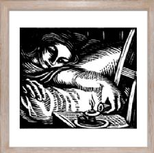 The Single Woman - Ready Framed